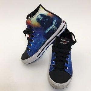 Star Wars Skechers Blue Black Size 3